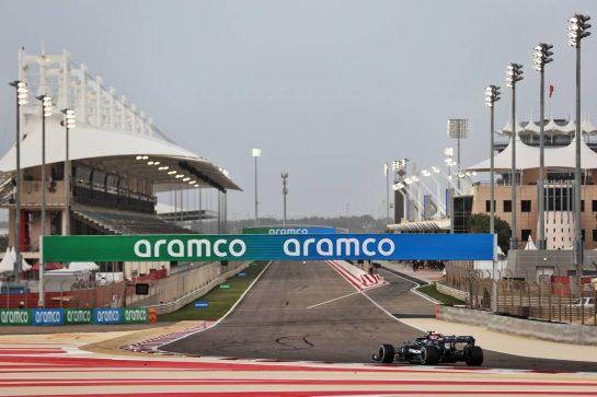 Valtteri Bottas (FIN) Mercedes AMG F1 W12. 13.03.2021. Formula 1 Testing, Sakhir, Bahrain, Day Two. - www.xpbimages.com, EMail: requests@xpbimages.com © Copyright: Batchelor / XPB Images