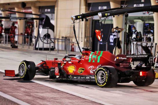 Charles Leclerc (MON) Ferrari SF-21. 13.03.2021. Formula 1 Testing, Sakhir, Bahrain, Day Two. - www.xpbimages.com, EMail: requests@xpbimages.com © Copyright: Moy / XPB Images