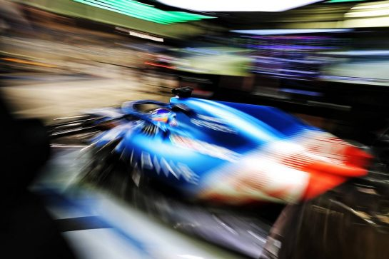 Fernando Alonso (ESP) Alpine F1 Team A521. 13.03.2021. Formula 1 Testing, Sakhir, Bahrain, Day Two. - www.xpbimages.com, EMail: requests@xpbimages.com © Copyright: Moy / XPB Images