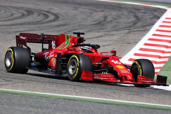 Charles Leclerc (MON) Ferrari SF-21. 14.03.2021. Formula 1 Testing, Sakhir, Bahrain, Day Three. - www.xpbimages.com, EMail: requests@xpbimages.com © Copyright: Charniaux / XPB Images