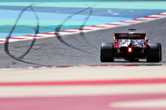 Kimi Raikkonen (FIN) Alfa Romeo Racing C41. 14.03.2021. Formula 1 Testing, Sakhir, Bahrain, Day Three. - www.xpbimages.com, EMail: requests@xpbimages.com © Copyright: Charniaux / XPB Images