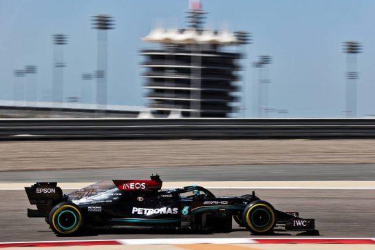 Valtteri Bottas (FIN) Mercedes AMG F1 W12. 14.03.2021. Formula 1 Testing, Sakhir, Bahrain, Day Three. - www.xpbimages.com, EMail: requests@xpbimages.com © Copyright: Batchelor / XPB Images