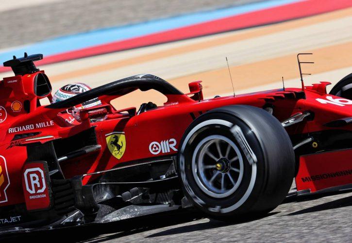Charles Leclerc (MON) Ferrari SF-21. 14.03.2021. Formula 1 Testing, Sakhi