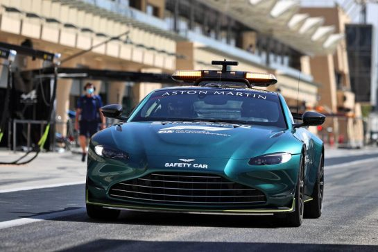 The Aston Martin FIA Safety Car. 14.03.2021. Formula 1 Testing, Sakhir, Bahrain, Day Three. - www.xpbimages.com, EMail: requests@xpbimages.com © Copyright: Moy / XPB Images