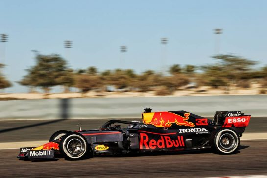 Max Verstappen (NLD) Red Bull Racing RB16B. 14.03.2021. Formula 1 Testing, Sakhir, Bahrain, Day Three. - www.xpbimages.com, EMail: requests@xpbimages.com © Copyright: Batchelor / XPB Images