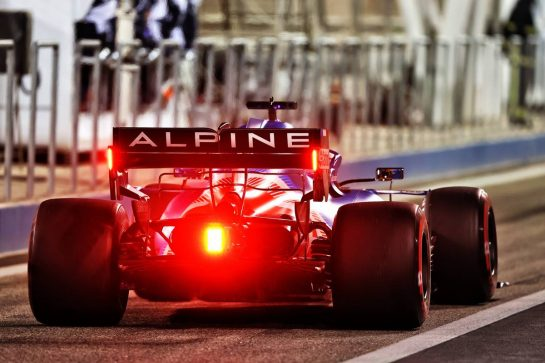 Fernando Alonso (ESP) Alpine F1 Team A521. 14.03.2021. Formula 1 Testing, Sakhir, Bahrain, Day Three. - www.xpbimages.com, EMail: requests@xpbimages.com © Copyright: Moy / XPB Images