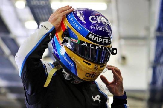 Fernando Alonso (ESP) Alpine F1 Team. 14.03.2021. Formula 1 Testing, Sakhir, Bahrain, Day Three. - www.xpbimages.com, EMail: requests@xpbimages.com © Copyright: Moy / XPB Images
