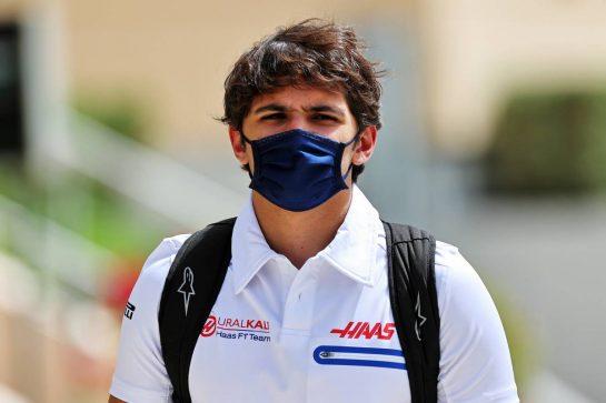 Pietro Fittipaldi (BRA) Haas F1 Team Reserve Driver. 25.03.2021. Formula 1 World Championship, Rd 1, Bahrain Grand Prix, Sakhir, Bahrain, Preparation Day. - www.xpbimages.com, EMail: requests@xpbimages.com © Copyright: Moy / XPB Images