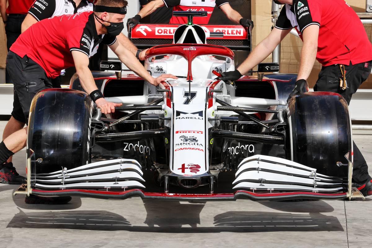 Alfa Romeo Racing C41. 25.03.2021. Formula 1 World Championship, Rd 1, Bahrain Grand Prix