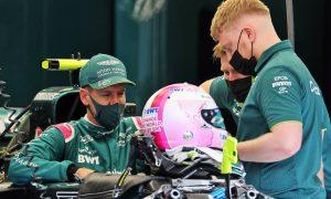 Vettel names Aston car after Bond girl character
