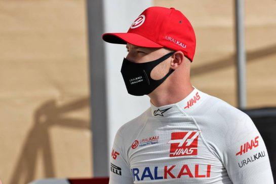 Nikita Mazepin (RUS) Haas F1 Team. 25.03.2021. Formula 1 World Championship, Rd 1, Bahrain Grand Prix, Sakhir, Bahrain, Preparation Day. - www.xpbimages.com, EMail: requests@xpbimages.com © Copyright: Batchelor / XPB Images