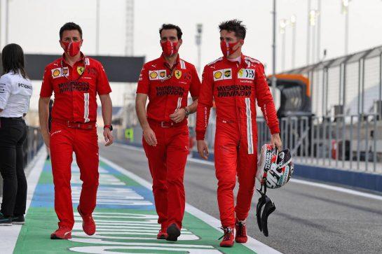 Charles Leclerc (MON) Ferrari. 25.03.2021. Formula 1 World Championship, Rd 1, Bahrain Grand Prix, Sakhir, Bahrain, Preparation Day. - www.xpbimages.com, EMail: requests@xpbimages.com © Copyright: Moy / XPB Images