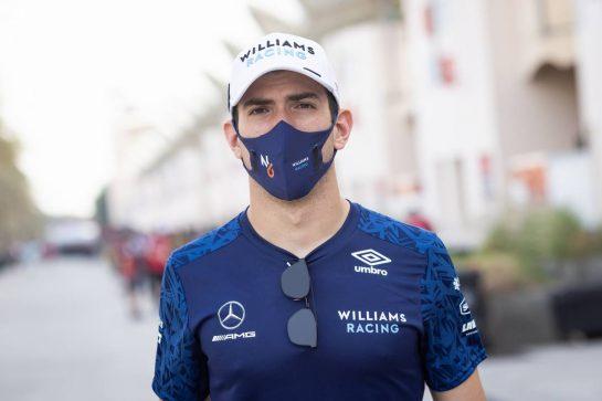 Nicholas Latifi (CDN) Williams Racing. 25.03.2021. Formula 1 World Championship, Rd 1, Bahrain Grand Prix, Sakhir, Bahrain, Preparation Day. - www.xpbimages.com, EMail: requests@xpbimages.com © Copyright: Bearne / XPB Images