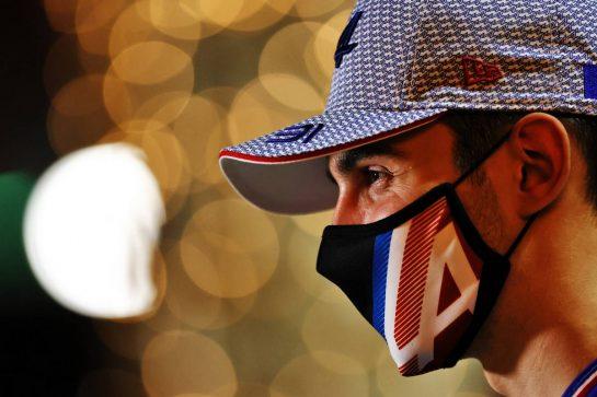 Esteban Ocon (FRA) Alpine F1 Team. 25.03.2021. Formula 1 World Championship, Rd 1, Bahrain Grand Prix, Sakhir, Bahrain, Preparation Day. - www.xpbimages.com, EMail: requests@xpbimages.com © Copyright: Moy / XPB Images