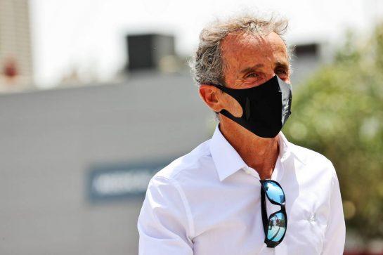 Alain Prost (FRA) Alpine F1 Team Non-Executive Director. 26.03.2021. Formula 1 World Championship, Rd 1, Bahrain Grand Prix, Sakhir, Bahrain, Practice Day - www.xpbimages.com, EMail: requests@xpbimages.com © Copyright: Batchelor / XPB Images