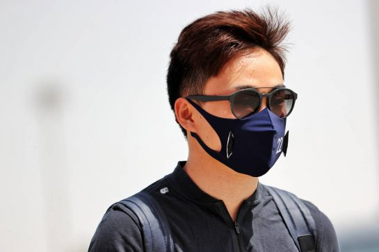 Yuki Tsunoda (JPN) AlphaTauri. 26.03.2021. Formula 1 World Championship, Rd 1, Bahrain Grand Prix, Sakhir, Bahrain, Practice Day - www.xpbimages.com, EMail: requests@xpbimages.com © Copyright: Batchelor / XPB Images