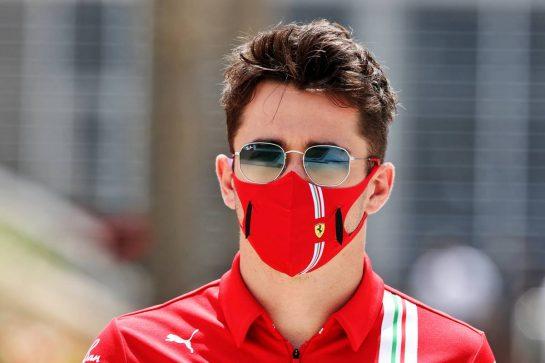 Carlos Sainz Jr (ESP) Ferrari. 26.03.2021. Formula 1 World Championship, Rd 1, Bahrain Grand Prix, Sakhir, Bahrain, Practice Day - www.xpbimages.com, EMail: requests@xpbimages.com © Copyright: Moy / XPB Images