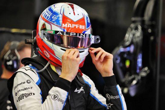 Esteban Ocon (FRA) Alpine F1 Team. 26.03.2021. Formula 1 World Championship, Rd 1, Bahrain Grand Prix, Sakhir, Bahrain, Practice Day - www.xpbimages.com, EMail: requests@xpbimages.com © Copyright: Moy / XPB Images