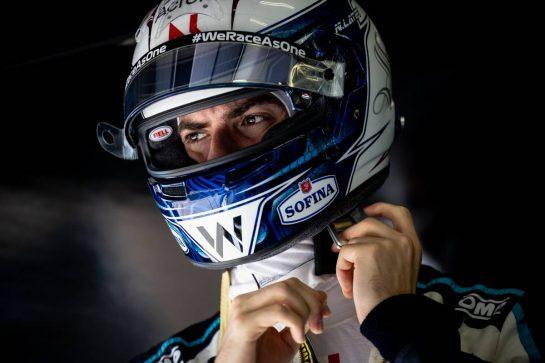 Nicholas Latifi (CDN) Williams Racing. 26.03.2021. Formula 1 World Championship, Rd 1, Bahrain Grand Prix, Sakhir, Bahrain, Practice Day - www.xpbimages.com, EMail: requests@xpbimages.com © Copyright: Bearne / XPB Images