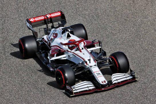 Kimi Raikkonen (FIN) Alfa Romeo Racing C41. 26.03.2021. Formula 1 World Championship, Rd 1, Bahrain Grand Prix, Sakhir, Bahrain, Practice Day - www.xpbimages.com, EMail: requests@xpbimages.com © Copyright: Charniaux / XPB Images