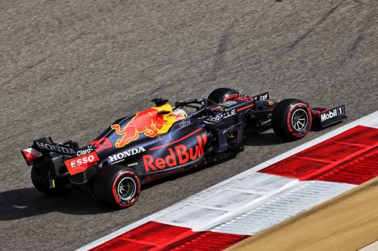 Max Verstappen (NLD) Red Bull Racing RB16B. 26.03.2021. Formula 1 World Championship, Rd 1, Bahrain Grand Prix, Sakhir, Bahrain, Practice Day - www.xpbimages.com, EMail: requests@xpbimages.com © Copyright: Charniaux / XPB Images