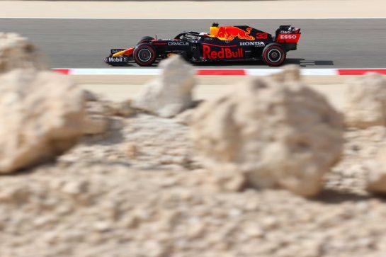Max Verstappen (NLD), Red Bull Racing 26.03.2021. Formula 1 World Championship, Rd 1, Bahrain Grand Prix, Sakhir, Bahrain, Practice Day- www.xpbimages.com, EMail: requests@xpbimages.com © Copyright: Charniaux / XPB Images
