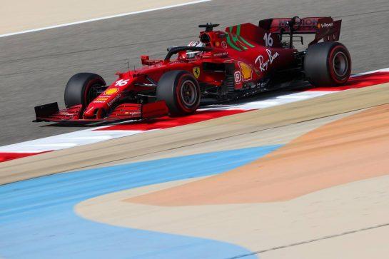 Charles Leclerc (FRA), Scuderia Ferrari 26.03.2021. Formula 1 World Championship, Rd 1, Bahrain Grand Prix, Sakhir, Bahrain, Practice Day- www.xpbimages.com, EMail: requests@xpbimages.com © Copyright: Charniaux / XPB Images
