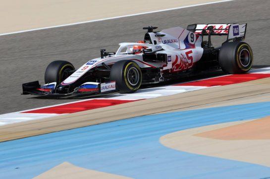 Nikita Mazepin (RUS), Haas F1 Team 26.03.2021. Formula 1 World Championship, Rd 1, Bahrain Grand Prix, Sakhir, Bahrain, Practice Day- www.xpbimages.com, EMail: requests@xpbimages.com © Copyright: Charniaux / XPB Images