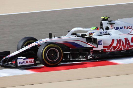 Mick Schumacher (GER), Haas F1 Team 26.03.2021. Formula 1 World Championship, Rd 1, Bahrain Grand Prix, Sakhir, Bahrain, Practice Day- www.xpbimages.com, EMail: requests@xpbimages.com © Copyright: Charniaux / XPB Images