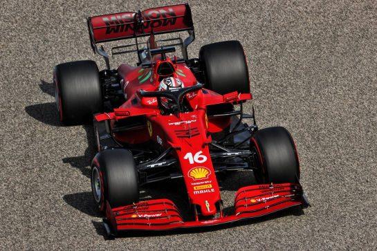 Charles Leclerc (MON) Ferrari SF-21. 26.03.2021. Formula 1 World Championship, Rd 1, Bahrain Grand Prix, Sakhir, Bahrain, Practice Day - www.xpbimages.com, EMail: requests@xpbimages.com © Copyright: Batchelor / XPB Images