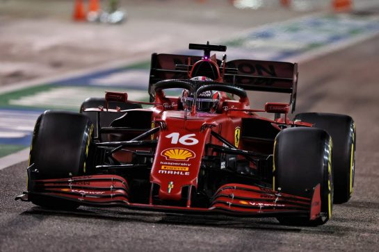 Charles Leclerc (MON) Ferrari SF-21. 26.03.2021. Formula 1 World Championship, Rd 1, Bahrain Grand Prix, Sakhir, Bahrain, Practice Day - www.xpbimages.com, EMail: requests@xpbimages.com © Copyright: Moy / XPB Images