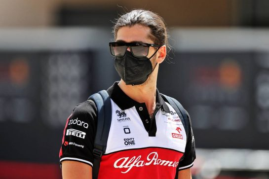 Antonio Giovinazzi (ITA) Alfa Romeo Racing. 27.03.2021. Formula 1 World Championship, Rd 1, Bahrain Grand Prix, Sakhir, Bahrain, Qualifying Day. - www.xpbimages.com, EMail: requests@xpbimages.com © Copyright: Moy / XPB Images