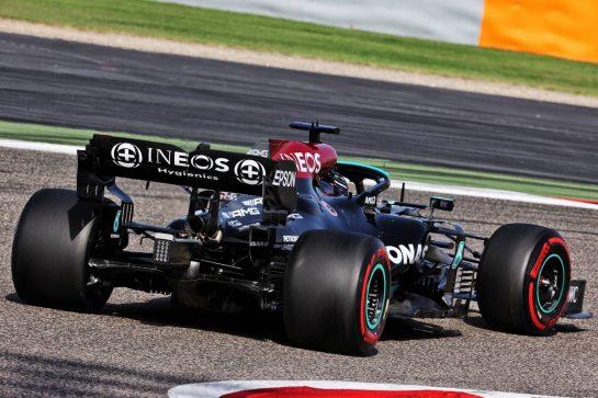 Lewis Hamilton (GBR) Mercedes AMG F1 W12. 27.03.2021. Formula 1 World Championship, Rd 1, Bahrain Grand Prix, Sakhir, Bahrain, Qualifying Day. - www.xpbimages.com, EMail: requests@xpbimages.com © Copyright: Batchelor / XPB Images