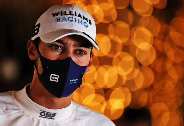 George Russell (GBR) Williams Racing. 27.03.2021. Formula 1 World Championship, Rd 1, Bahrain Grand Prix, Sakhir