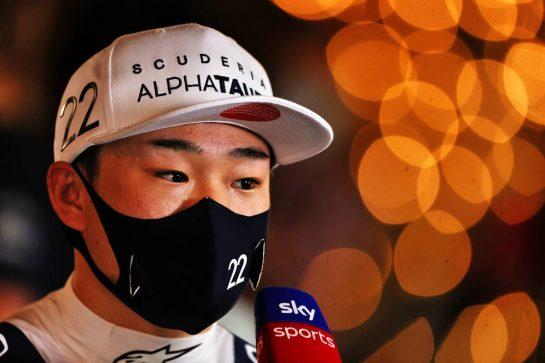 Yuki Tsunoda (JPN) AlphaTauri. 27.03.2021. Formula 1 World Championship, Rd 1, Bahrain Grand Prix, Sakhir, Bahrain, Qualifying Day. - www.xpbimages.com, EMail: requests@xpbimages.com © Copyright: Moy / XPB Images