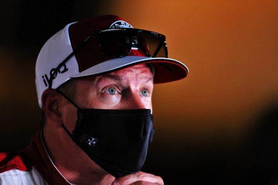 Kimi Raikkonen (FIN) Alfa Romeo Racing. 27.03.2021. Formula 1 World Championship, Rd 1, Bahrain Grand Prix, Sakhir, Bahrain, Qualifying Day. - www.xpbimages.com, EMail: requests@xpbimages.com © Copyright: Moy / XPB Images