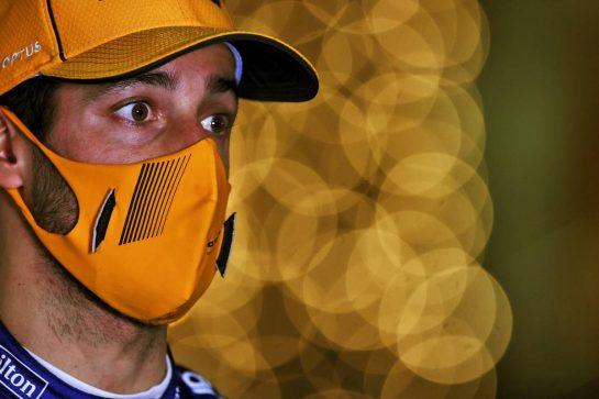 Daniel Ricciardo (AUS) McLaren. 27.03.2021. Formula 1 World Championship, Rd 1, Bahrain Grand Prix, Sakhir, Bahrain, Qualifying Day. - www.xpbimages.com, EMail: requests@xpbimages.com © Copyright: Moy / XPB Images