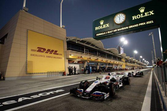 Mick Schumacher (GER) Haas VF-21. 27.03.2021. Formula 1 World Championship, Rd 1, Bahrain Grand Prix, Sakhir, Bahrain, Qualifying Day. - www.xpbimages.com, EMail: requests@xpbimages.com © Copyright: Bearne / XPB Images
