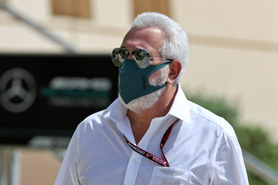 Lawrence Stroll (CDN) Aston Martin F1 Team Investor. 28.03.2021. Formula 1 World Championship, Rd 1, Bahrain Grand Prix, Sakhir, Bahrain, Race Day. - www.xpbimages.com, EMail: requests@xpbimages.com © Copyright: Moy / XPB Images