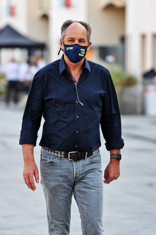 Gerhard Berger (AUT). 28.03.2021. Formula 1 World Championship, Rd 1, Bahrain Grand Prix, Sakhir, Bahrain, Race Day. - www.xpbimages.com, EMail: requests@xpbimages.com © Copyright: Moy / XPB Images