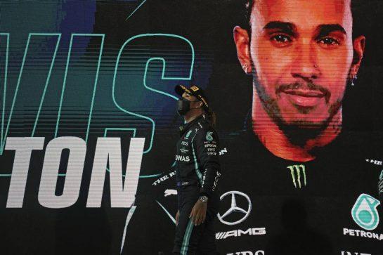 Lewis Hamilton (GBR), Mercedes AMG F1  28.03.2021. Formula 1 World Championship, Rd 1, Bahrain Grand Prix, Sakhir, Bahrain, Race Day.- www.xpbimages.com, EMail: requests@xpbimages.com © Copyright: Charniaux / XPB Images