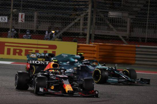 Sergio Perez (MEX) Red Bull Racing RB16B.28.03.2021. Formula 1 World Championship, Rd 1, Bahrain Grand Prix, Sakhir, Bahrain, Race Day.- www.xpbimages.com, EMail: requests@xpbimages.com © Copyright: Batchelor / XPB Images
