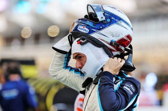 Nicholas Latifi (CDN) Williams Racing on the grid. 28.03.2021. Formula 1 World Championship, Rd 1, Bahrain Grand Prix, Sakhir, Bahrain, Race Day. - www.xpbimages.com, EMail: requests@xpbimages.com © Copyright: Batchelor / XPB Images