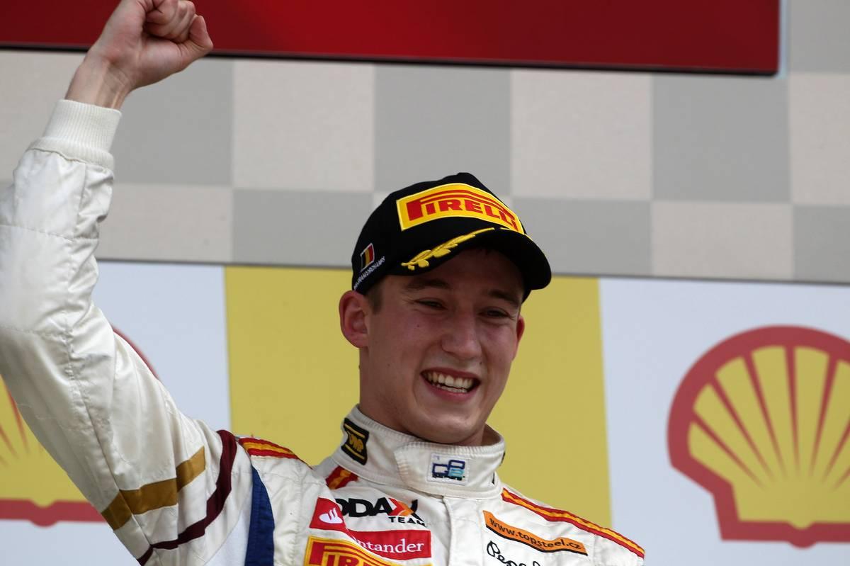 Josef Kral (CZR), Barwa Addax Team race winner 02.09.2012.