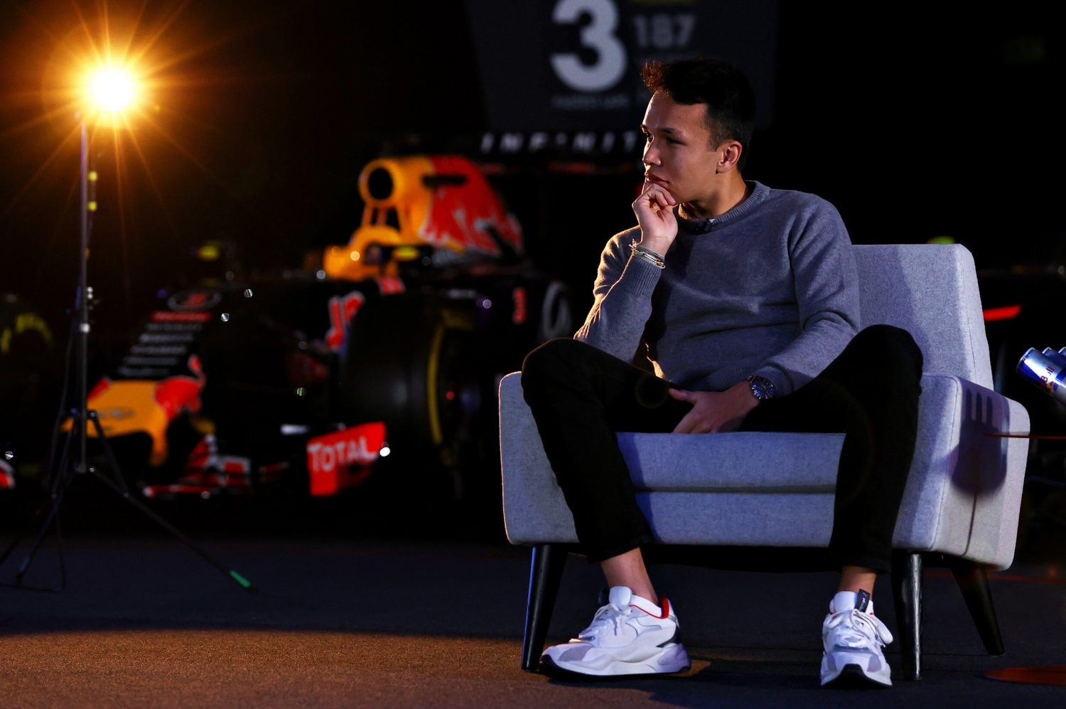Albon ready 'to take anyone's space' if needed