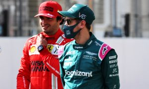 Sainz: Deep 'respect' for Vettel rooted in 2014 'thank you' letter
