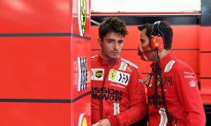 Leclerc admits to 'strange atmosphere' at Ferrari in 2020