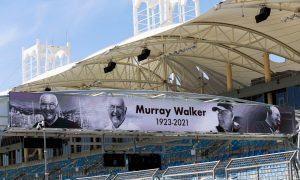 A fitting tribute to the late Murray Walker