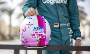 Vettel didn't let 'German pride' get in the way of pink helmet