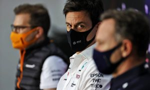 Wolff: Being in the hunt 'very enjoyable' for Mercedes